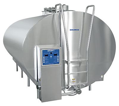 Танк-охладитель молока Бункер для охлаждения молока (резервуар)