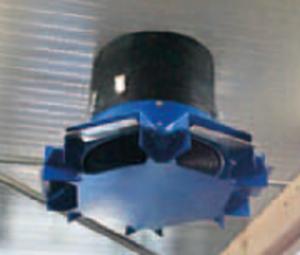 вентилятор для коровников и доильного зала
