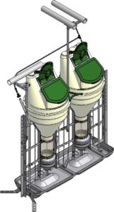 Кормоавтомат для доращивания и откорма
