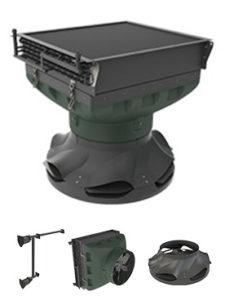 Водный воздухонагреватель NW 110 AGRO для птицефабрик, свиноферм