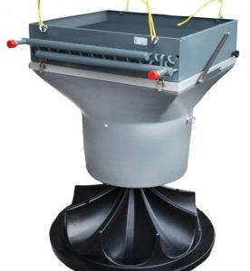 Водный воздухонагреватель NW 50 AGRO для птицефабрик, свиноферм