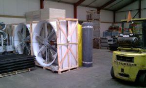 Вентилятор для коров Windforce