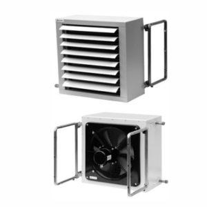 Водный воздухонагреватель NW 40 AGRO для птицефабрик, свиноферм
