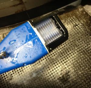Аппарат для чистки сосков