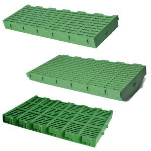 Пластиковые щелевые полы для свиней, пластиковые решетки