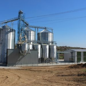 Элеваторы для хранения зерна, силосы